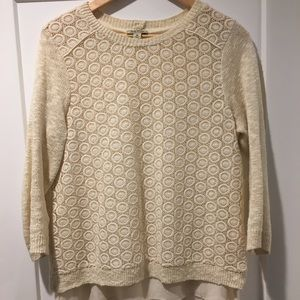 Lucky Brand Sweater with cute back
